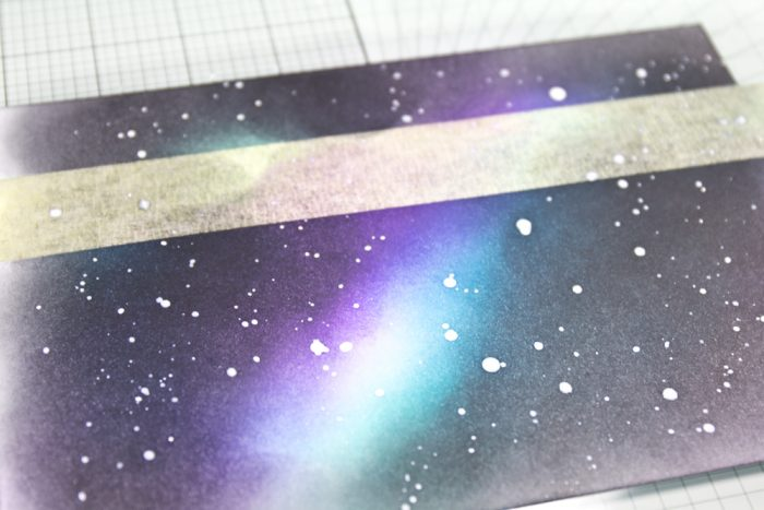 Sternenhimmel Karte Anleitung