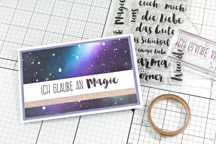 Galaxy Card Tutorial
