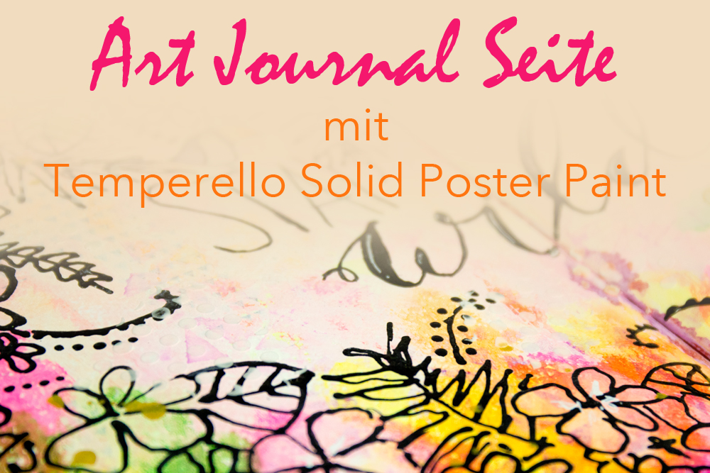 Art Journal Tutorial mit Temperello