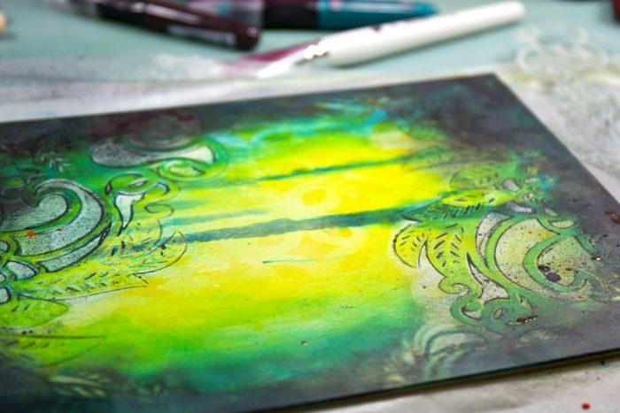 Phantasielandschaft Art Journal