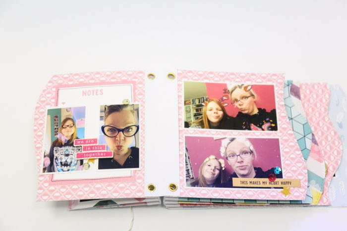 Minibook mit Shimelle Little by Little