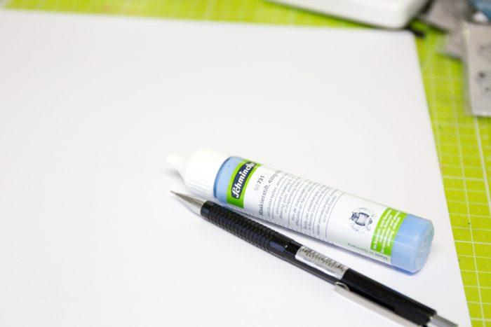 Schmincke Rubbelkrepp Maskierstift