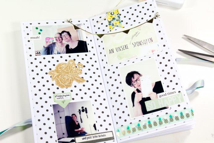 Memory Notebook gestalten