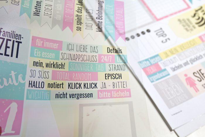 Printables auf Transparentfolie drucken