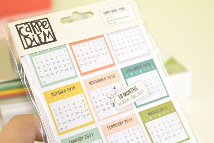 Carpe Diem Planner Sticker