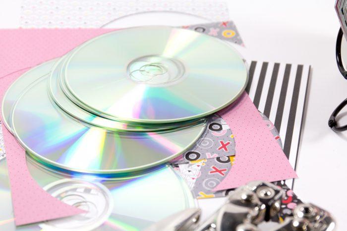 Minialbum aus alten CDs