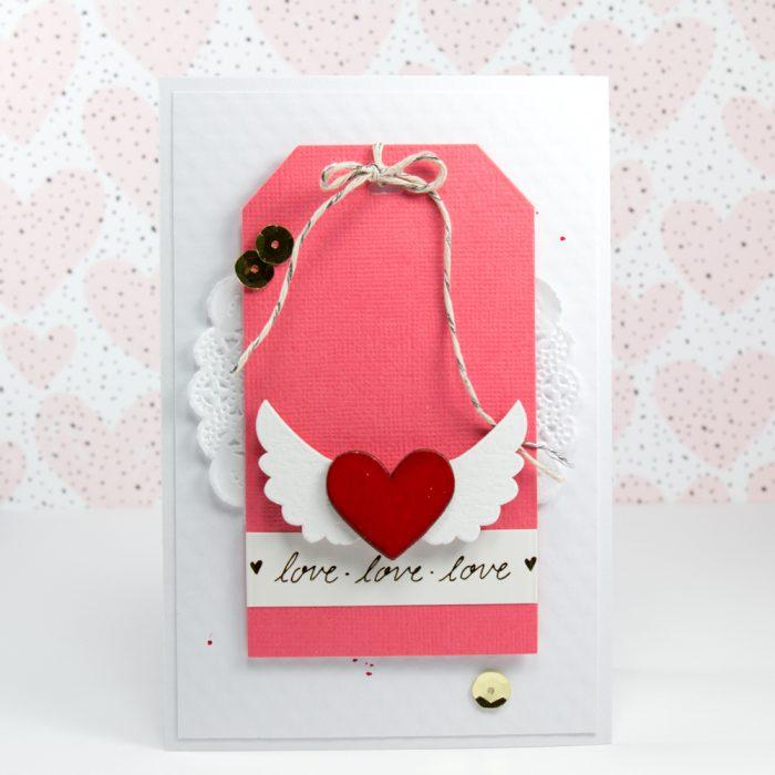 Valentinskarte Tag