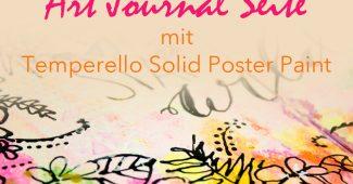 Art Journal Tutorial mit Temperello