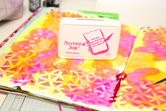 Art Journal und Archival ink