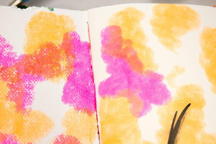 Art Journal Schritt für Schritt