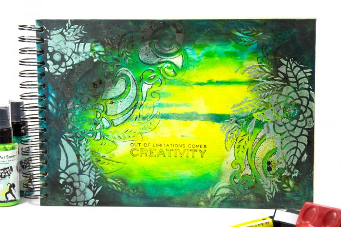 Marabu Mixed Media Art Journal