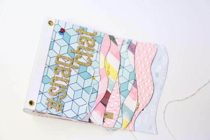 Minialbum Workshop bei Scrappies
