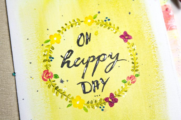 Art Journal Happy Day