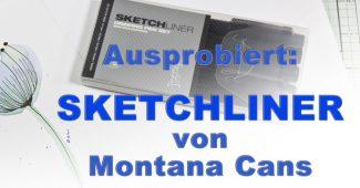 Sketchliner von Montana Cans für Karten