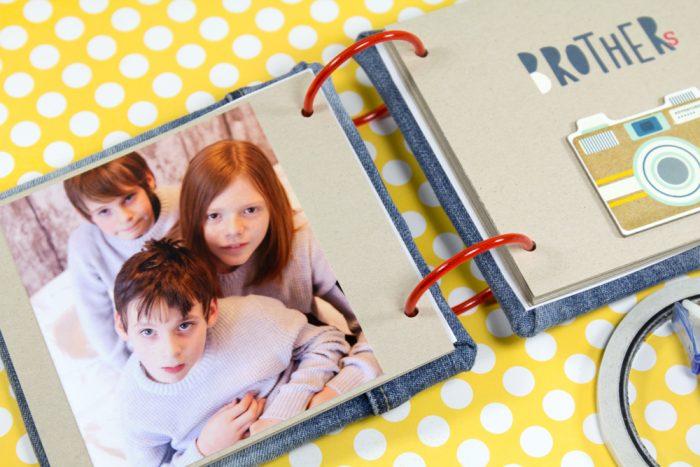DIY Fotoalbum aus Kapa Platten
