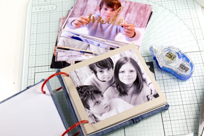 Minialbum für Kinderfotos