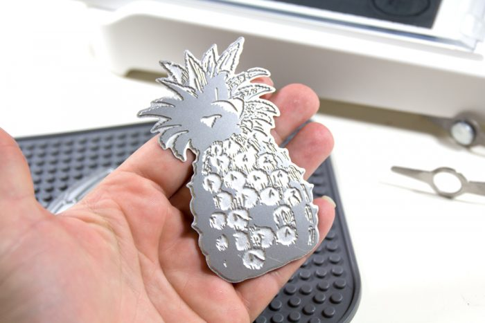 Go Press and Foil Prägeform Ananas