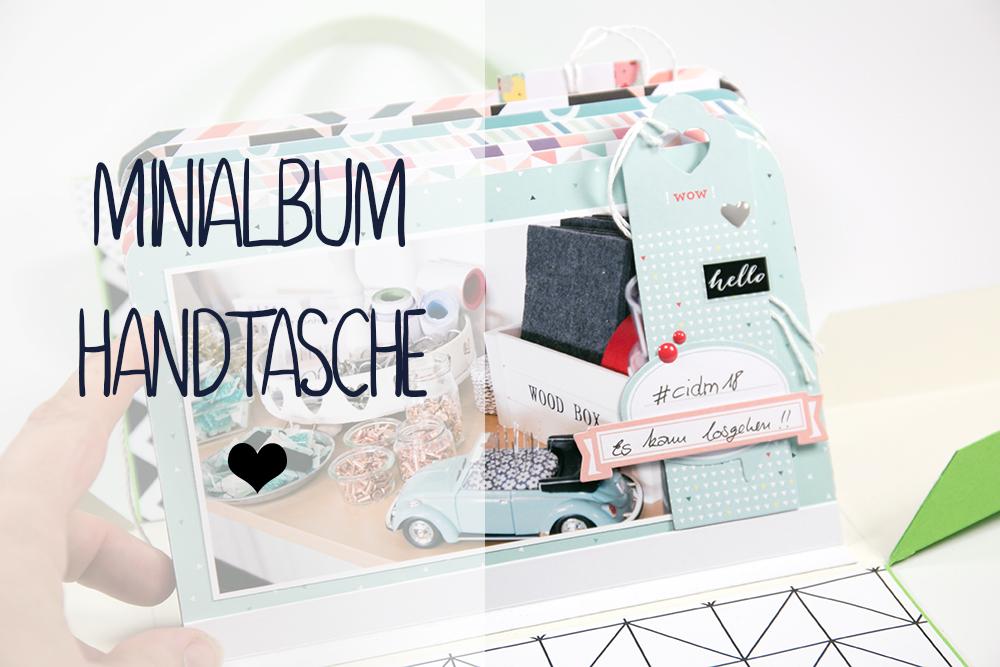 Minialbum Handtasche Tutorial