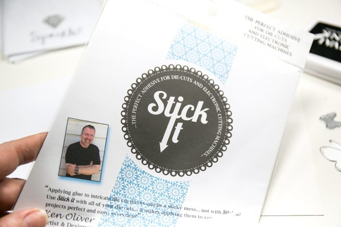Stick it Klebefolie für Die Cutting
