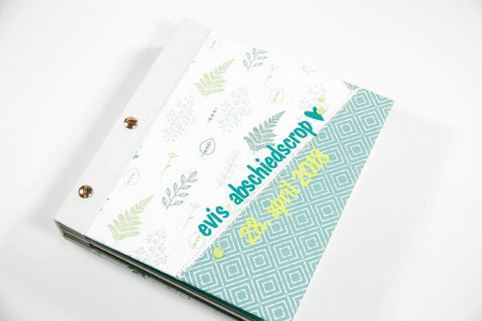 Minialbum mit Buchschrauben