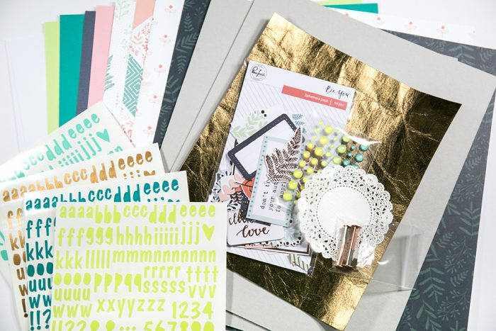 Workshop Kit Scrapbooking