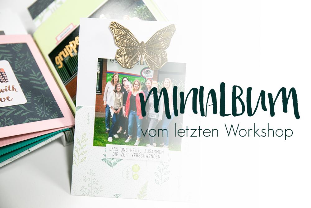 Minialbum mit Schraubbindung