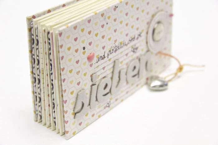 Minibook mit Enstecktaschen
