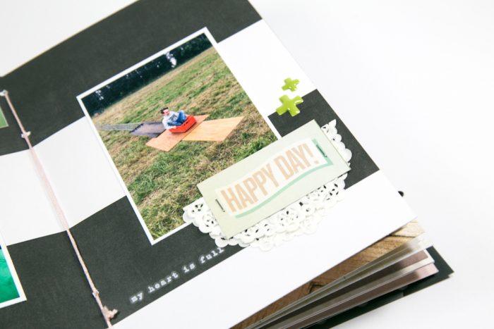 Minibook mit dem Novemberkit von danipeuss