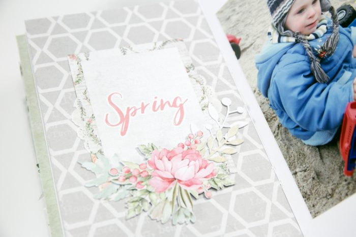 Scrapbooking Frühling