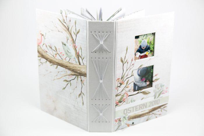 Minibook mit Fadenbindung