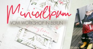 Minialbum Workshop mit Mel bei Cathleen Kick