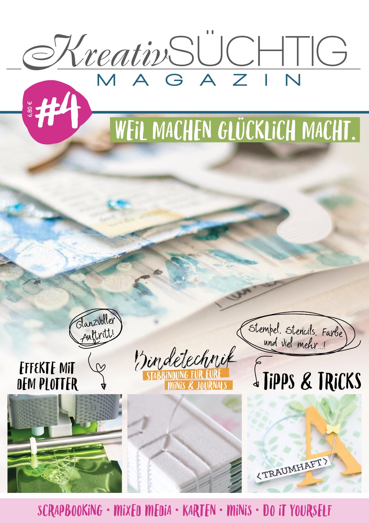 Kreativsüchtig Magazin 4