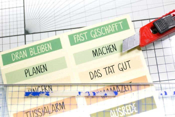 DIY Planner Sticker