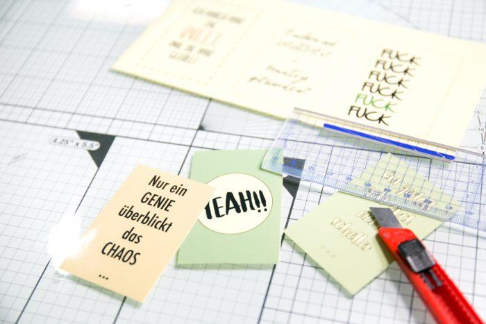 Kreativsüchtig Magazin DIY Planner Sticker
