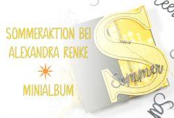 Alexandra Renke Sommeraktion Minialbum