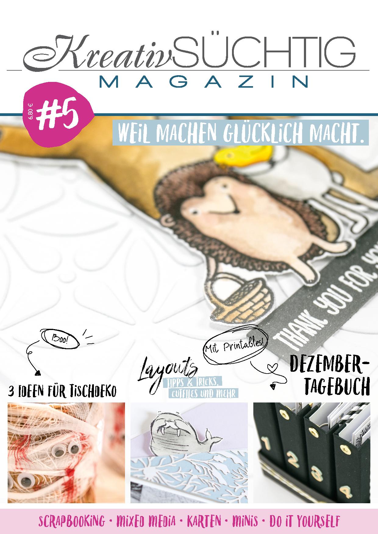 Kreativsüchtig Magazin 5