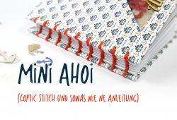 Minialbum Coptic Stitch