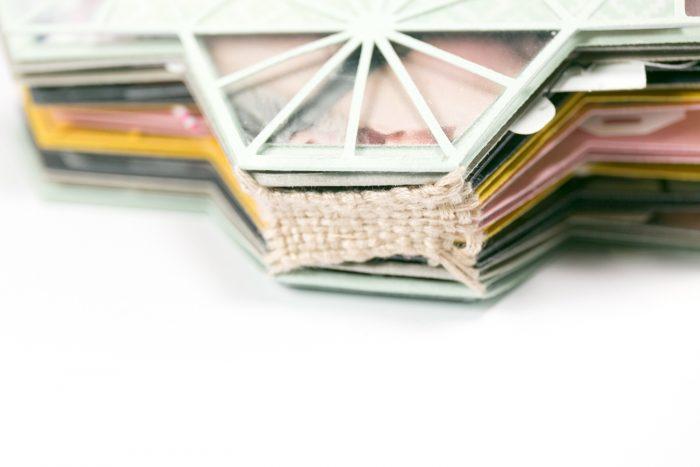 Minibook Bindung