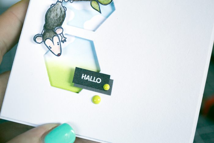 Karte Hallo
