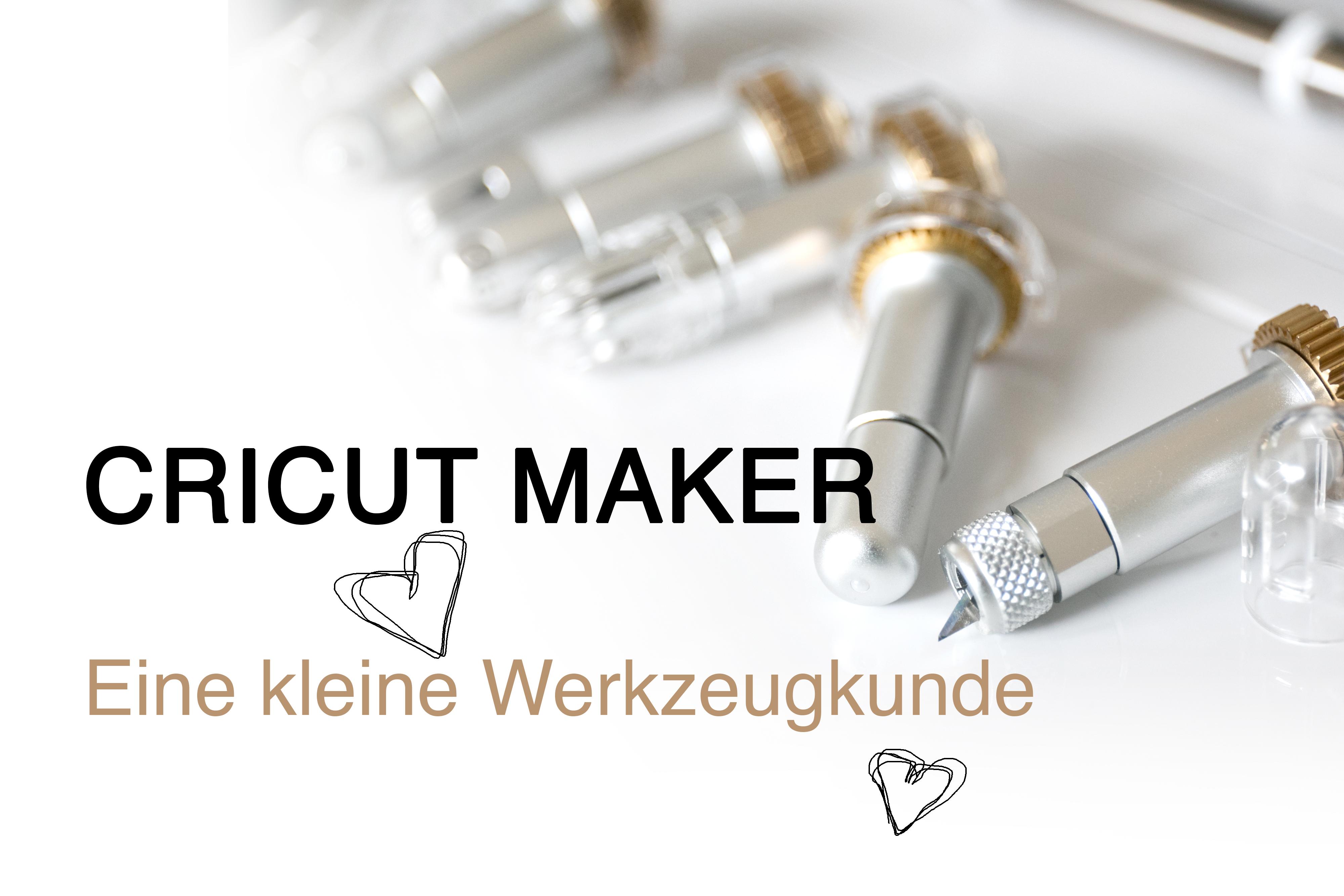 Cricut Maker Tools deutsch