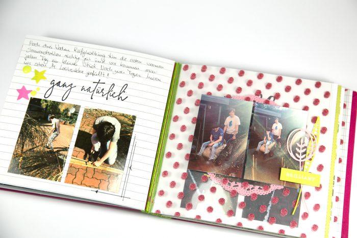 Minialbum Seiten