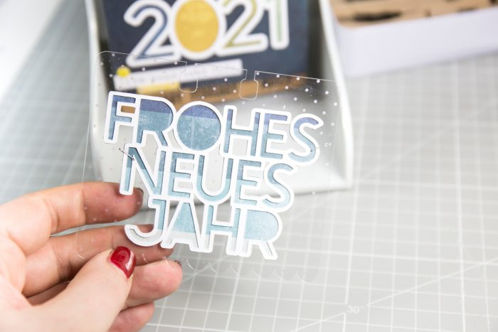 Frohes neues Jahr Cutfile