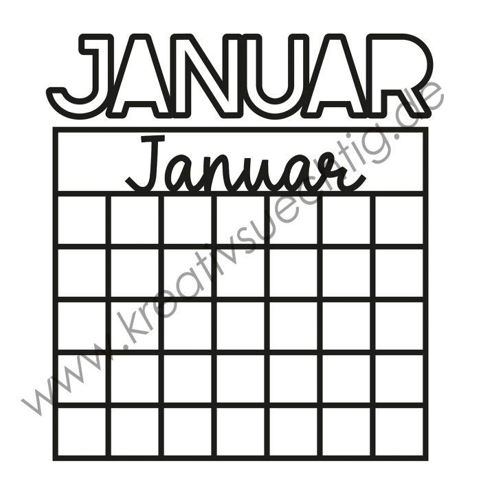 Januar Cutfile