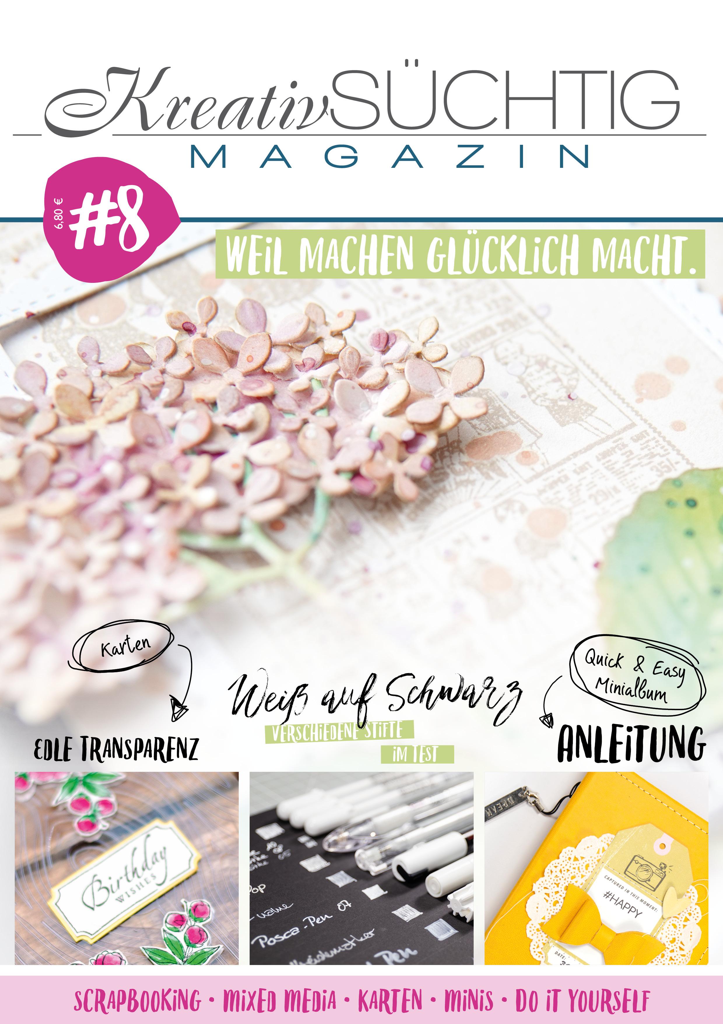 Kreativsüchtig Magazin #8
