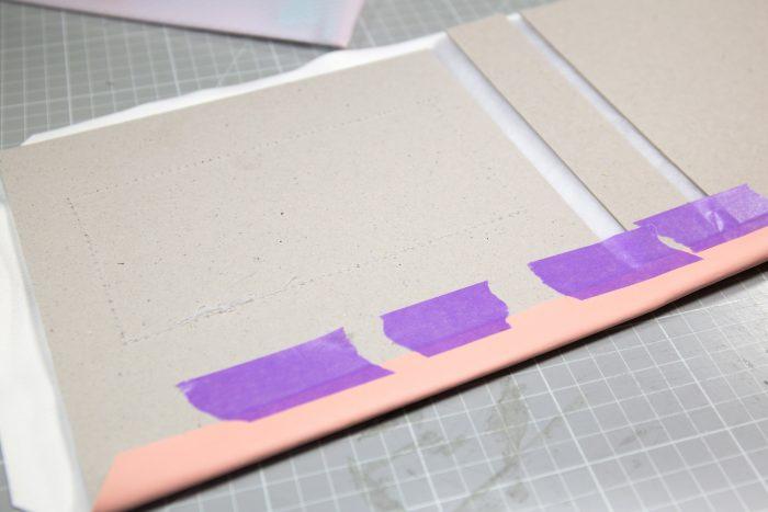 DIY Leather Scrapbook Album