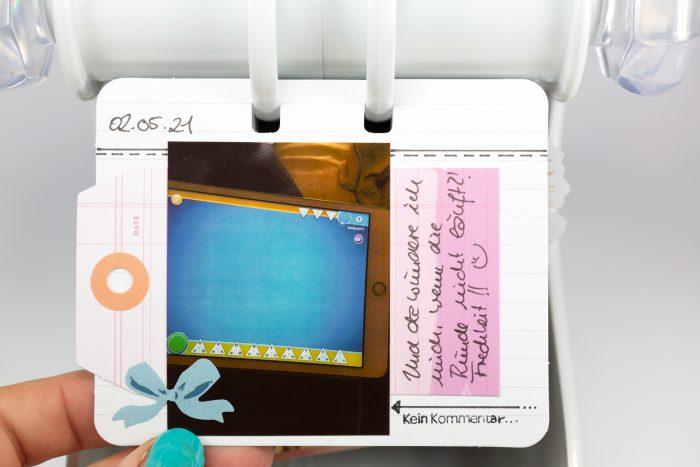 Memorydex Tagebuch