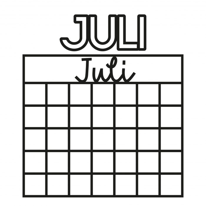 Kalender Cutfiles
